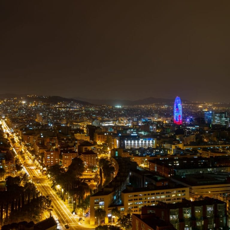 Spain at Night