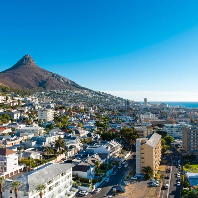 Cape Town Aerial View