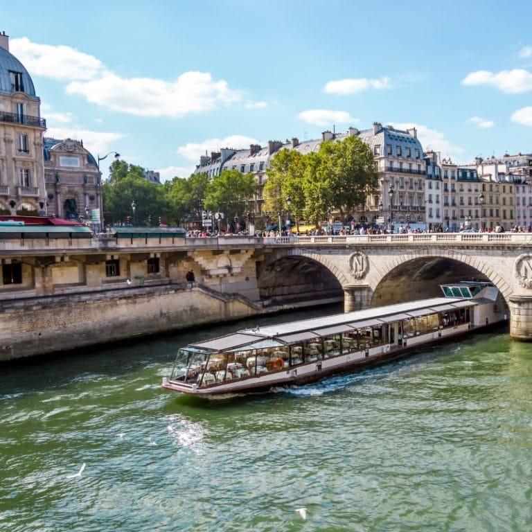 River Seine Boat Cruise