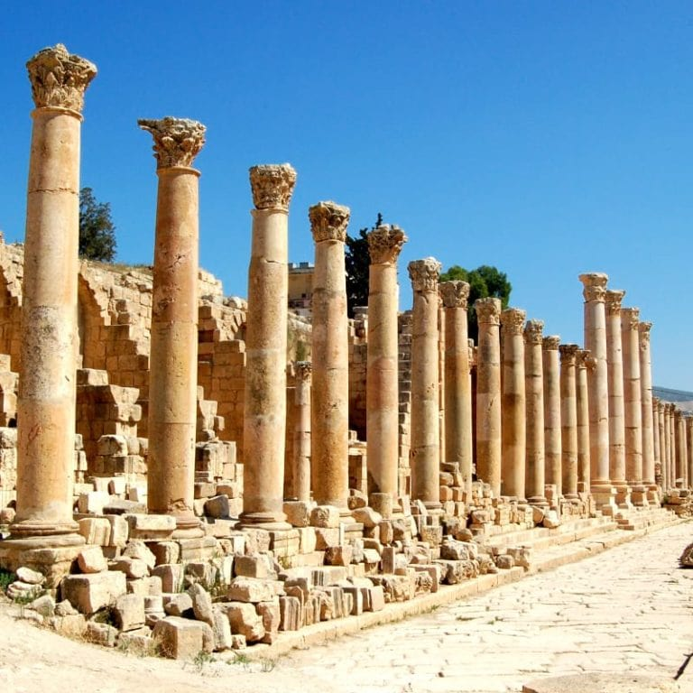 Ancient Petra Ruins