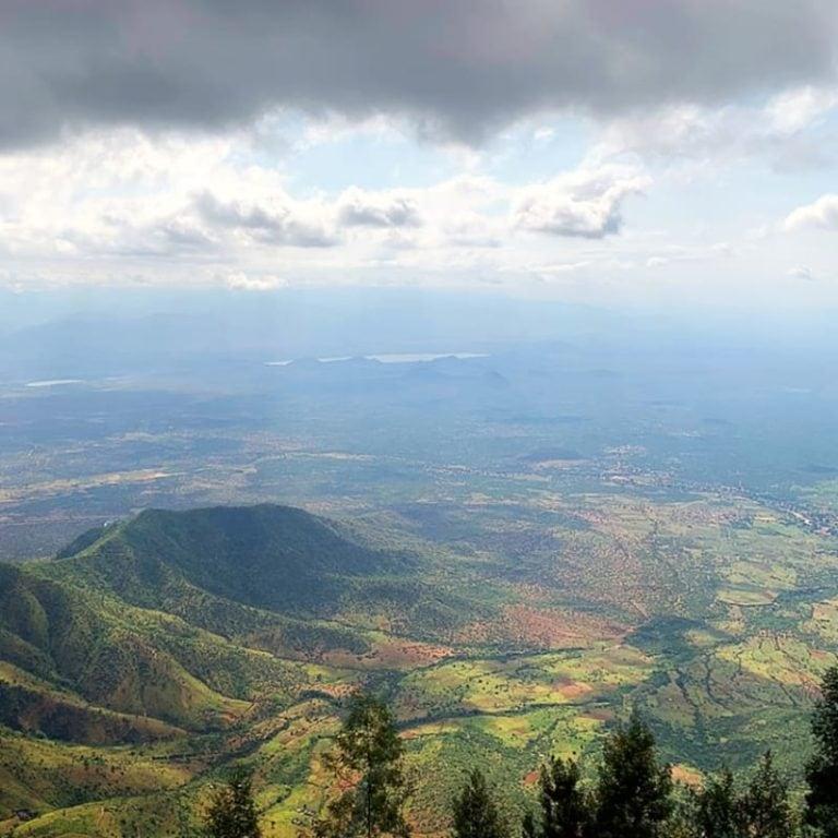 Lushoto Aerial View